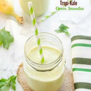 Tropi-Kale Green Smoothie.