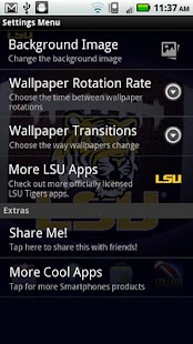 LSU Revolving Wallpaper - screenshot thumbnail