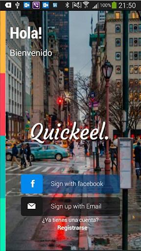 Quickeel Mensajes en tu ciudad