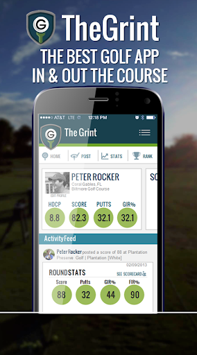 TheGrint Golf GPS Scoring