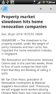 SGNews (Singapore News) - screenshot thumbnail