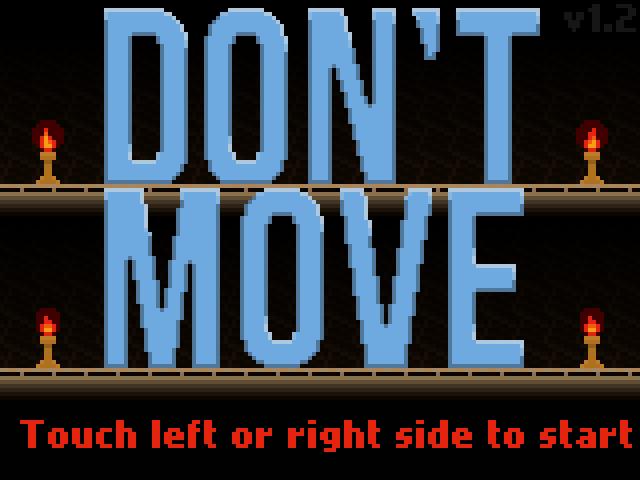 Don't Move - screenshot