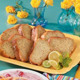 Poppy Seed Lemon Cake.