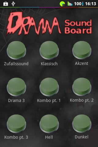 Drama Button Soundboard - screenshot