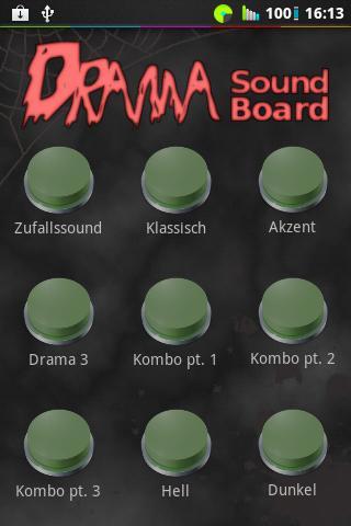 Drama Button Soundboard - screenshot