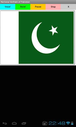 Pakistan's Anthem
