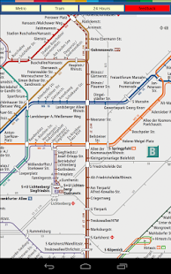 Berlin S Bahn U Bahn Tram Maps- screenshot thumbnail