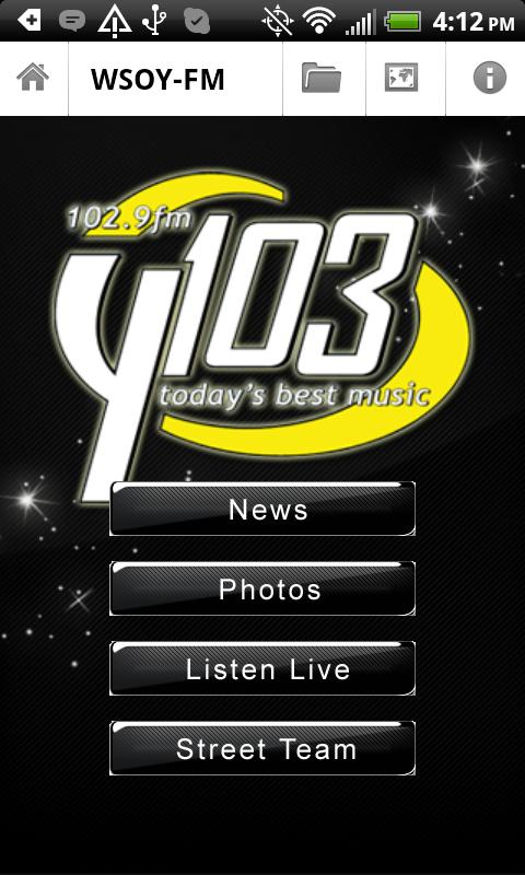 WSOY-FM - screenshot