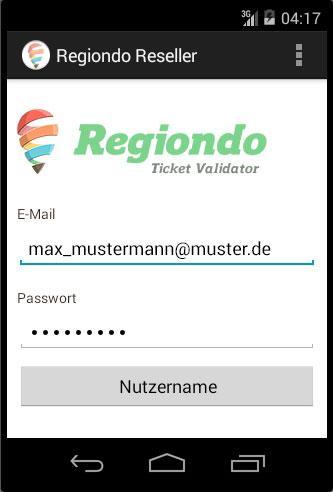 Regiondo App für Anbieter