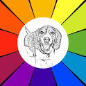 Dog Coloring Book icon