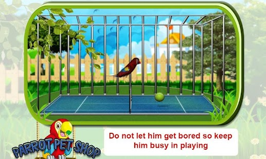 Pet Parrot - 2D Pet Simulator- screenshot thumbnail