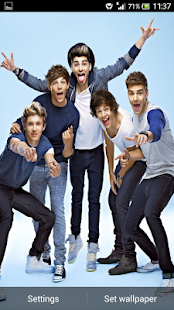 One Direction 2013 LWP - screenshot thumbnail