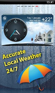 Weather & Clock - Meteo Widget screenshot 0