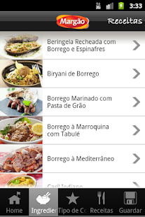 Margao Receitas - screenshot thumbnail