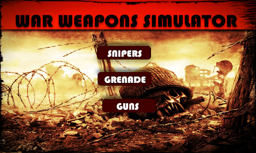 War Weapons Simulation