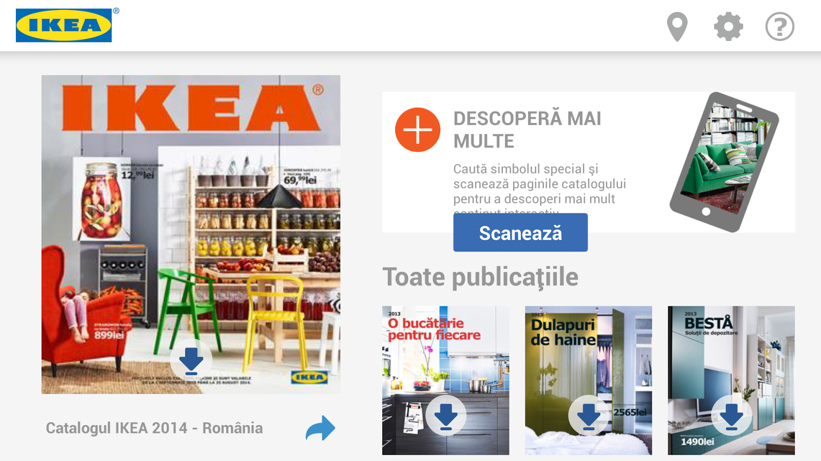 Catalogul IKEA - screenshot