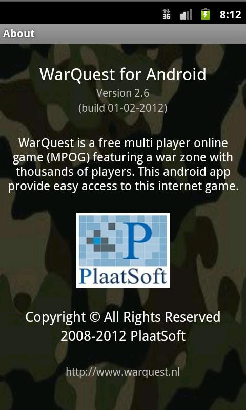 WarQuest - screenshot