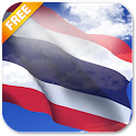 3D Thailand Flag icon