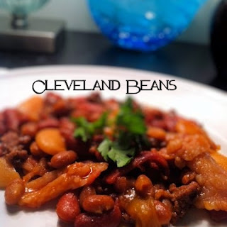 Crock Pot Cleveland Beans.