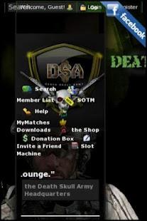 DEATHSKULLARMY.COM- screenshot thumbnail