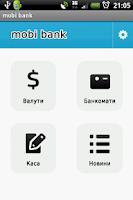 Screenshot of Mobi bank