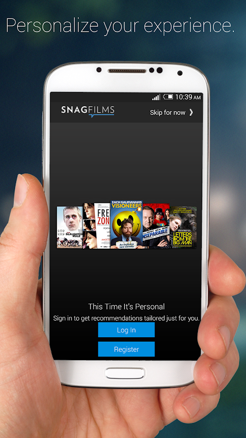 SnagFilms Watch Free Movies - screenshot