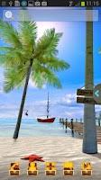 Screenshot of UR 3D Beach Island Live Theme