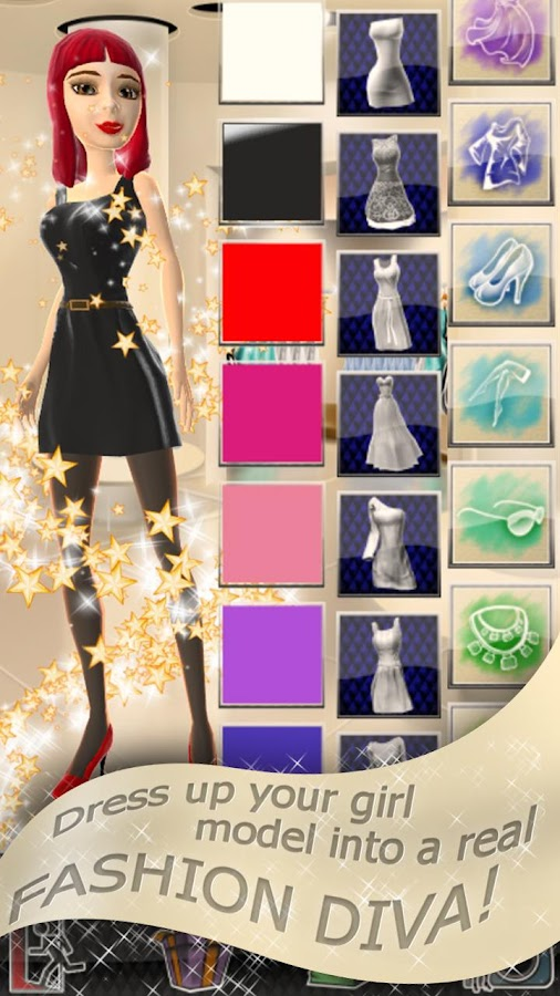 Fashion Dress Up Game- screenshot