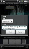 Screenshot of Ringtone Kid (Ringtone Maker!)