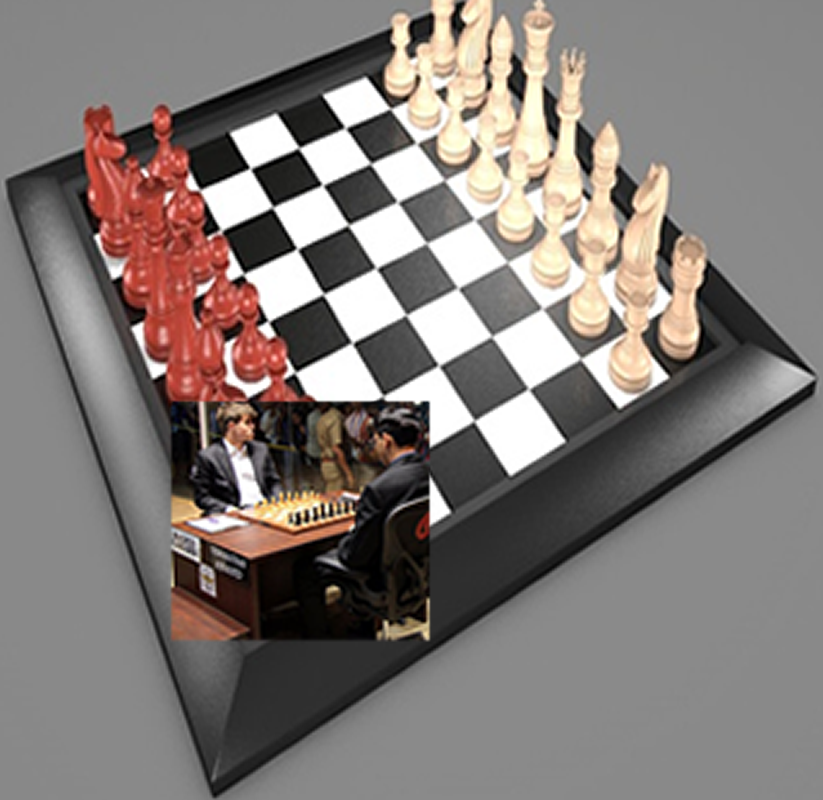 Chess Carlsen Games vs Anand Chess Masters play- screenshot
