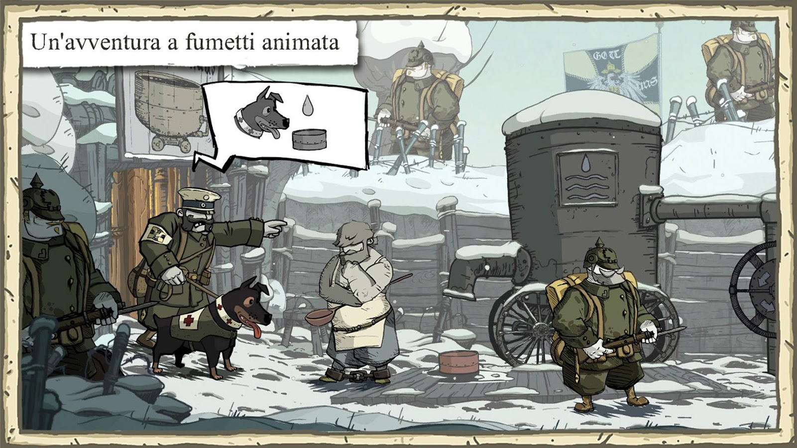 Valiant Hearts: The Great War- screenshot