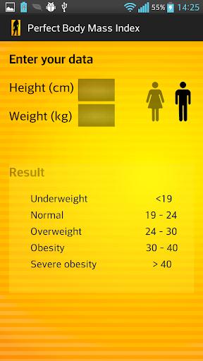 Perfect Body Mass Index