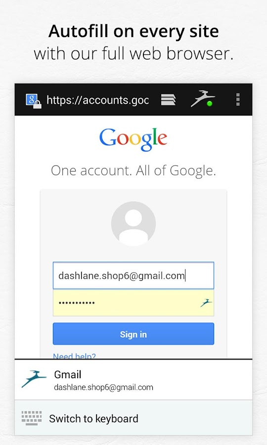 Dashlane Password Manager - screenshot