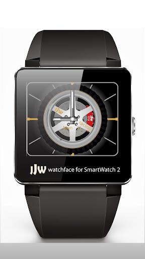 Spinning Rims 3 Watchface SW2