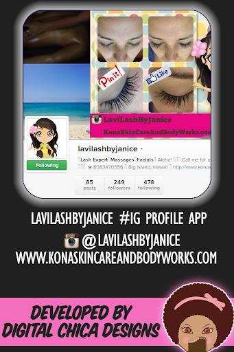 Lavi Lash By Janice: Instagram