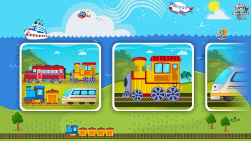 适于儿童的火车拼图 – 教育版|玩教育App免費|玩APPs