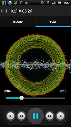 X3-サウンドレコーダー ビジュアルプレイヤー