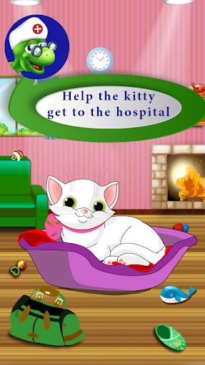 kitty give birth