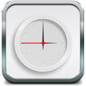 White Clock Live Wallpaper