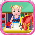 School Baby Care Games icon