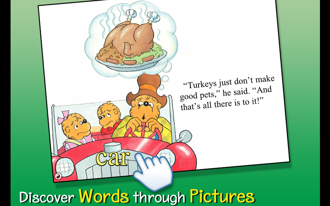 Berenstain Bears - Give Thanks - screenshot