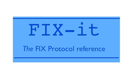 FIX-IT- FIX protocol reference
