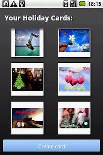 Holiday Cards - screenshot thumbnail