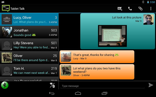 OEM Theme - Tablet Talk