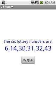 Go lottery- screenshot thumbnail