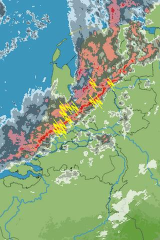 Weer Radar Nederland - screenshot