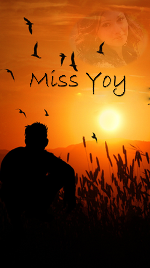miss you photo frame screenshot
