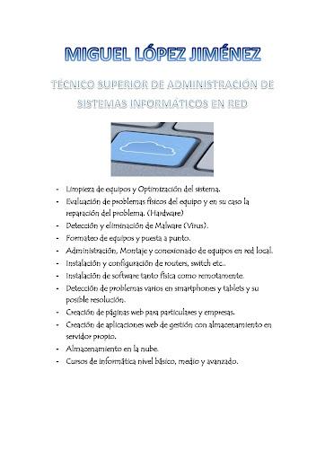 Servicio Informático Trobal