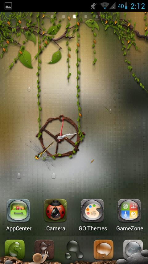 Dryad(Go Launcher Super Theme) - screenshot