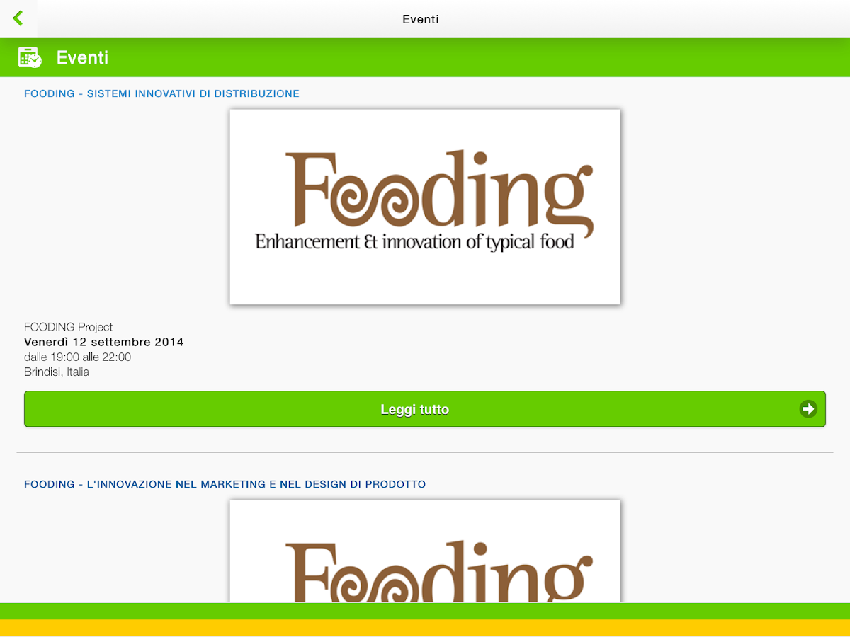 Fooding Project- screenshot